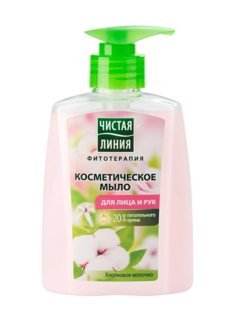 Жидкое мыло Чистая Линия для лица и рук  250 мл