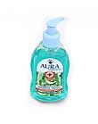 AURA Жидкое мыло с антибактериальным эффектом  Алое Вера 300 мл.