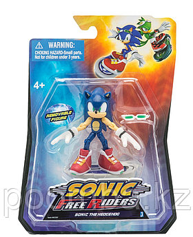 "Фигурка Sonic ""Free Riders"" - Соник с аксессуарами, 9 см"