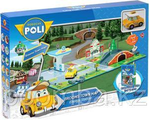 Игровой набор Город - Почта с мостом (металлическая машинка Кэп) Silverlit, 50 см (83248)