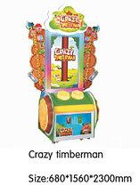 Игровой автомат - Crazy timberman