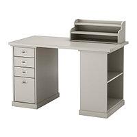 Стол письменный КЛИМПЕН серый светло-серый ИКЕА, IKEA, фото 1