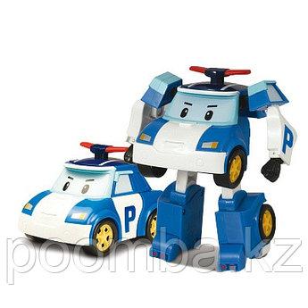 Полицейская машинка-трансформер Поли Silverlit Robocar Poli, 10 см (83171)