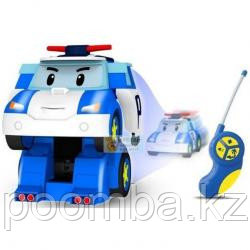 Робот-трансформер Поли Silverlit Робокар Поли на р/у (20 см) (83086)