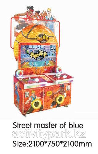 Игровой автомат - Street master of blue