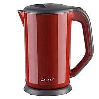 Чайник электрический с двойными стенками GALAXY GL0318 (коричневый), фото 4