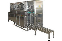 Триблок, автомат линия розлива воды в 19 л бутыли 100 бут/час