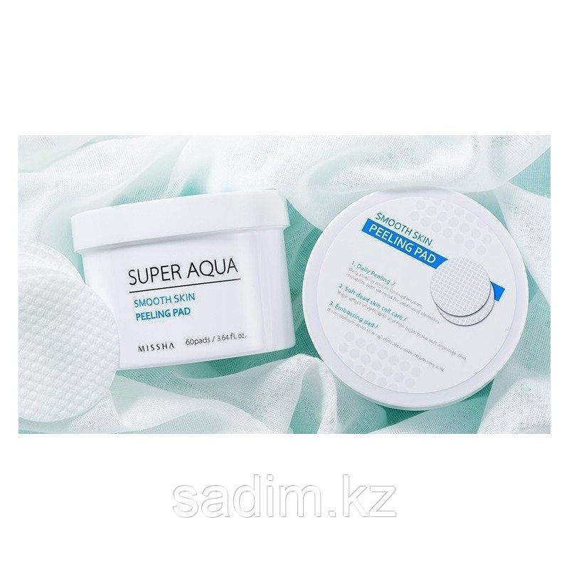 Missha Super Aqua Smooth Skin Peeling Pad - Пилинг-диски с кислотами