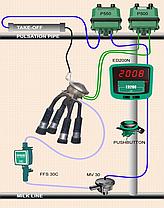 Доильный зал SCR Елочка2х4 на 100 голов с системой управления стада DATA FLOW II, фото 3