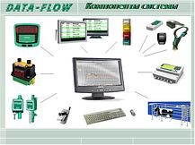 Доильный зал SCR Елочка2х4 на 100 голов с системой управления стада DATA FLOW II, фото 2