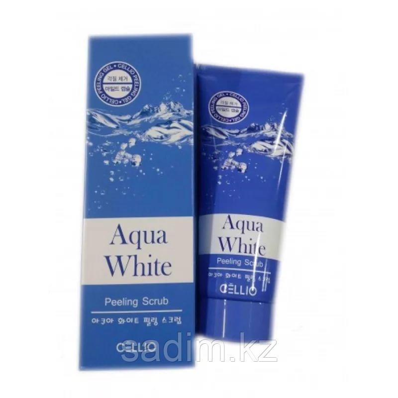 Cellio Aqua White Peeling Scrub - Пилинг-скраб
