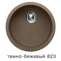 Мойка для кухни кварцевая TOLERO темно-бежевая