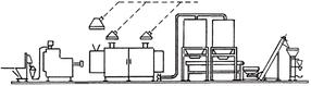 Полуавтоматическая макаронная линия МАКИЗ 100 кг/час
