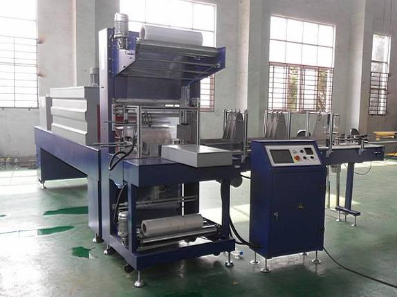 Автомат групповой упаковки в термо-пленку 8-12 упак/мин, фото 2