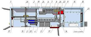 Модуль убоя МРС на 240 голов смена, фото 3