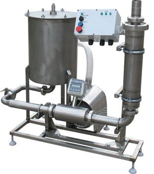 Комплект оборудования для учета(21000 л/ч) и фильтрации(6000 л/ч) молока ИПКС-0121-6000УФ(Н)