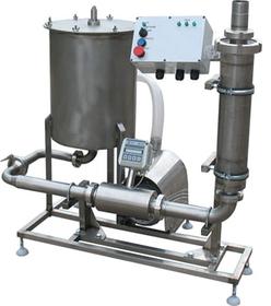 Комплект оборудования для учета(21000 л/ч) и фильтрации(6000 л/ч) молока