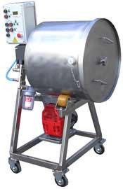 Массажер вакуумный (с переменной частотой вращения) ИПКС-107-100Ч(Н), 100 л, фото 2