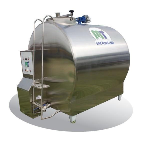 Охладитель молока ColdVessel(M) 2500 л