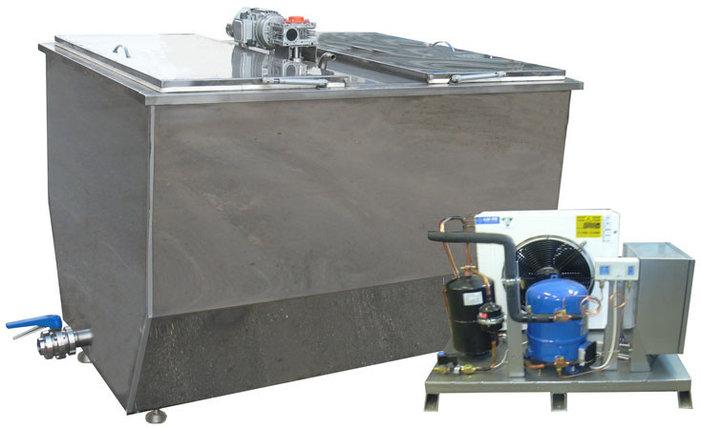 Ванна охладитель молока ванна-1000(Н), 1000 л, фото 2