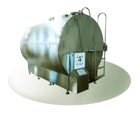 Охладитель молока закрытого типа Cold Vessel 2500 л, фото 2