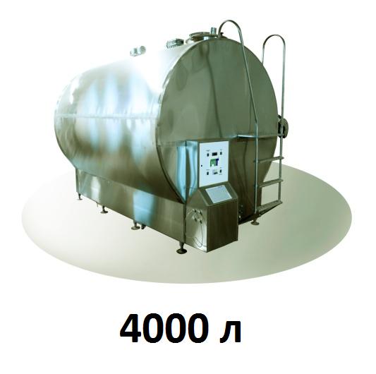 Охладитель молока закрытого типа Cold Vessel 4000 л