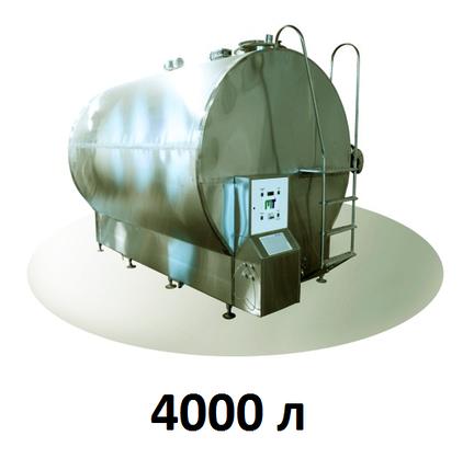 Охладитель молока закрытого типа Cold Vessel 4000 л, фото 2