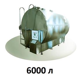 Охладитель молока закрытого типа 6000 л