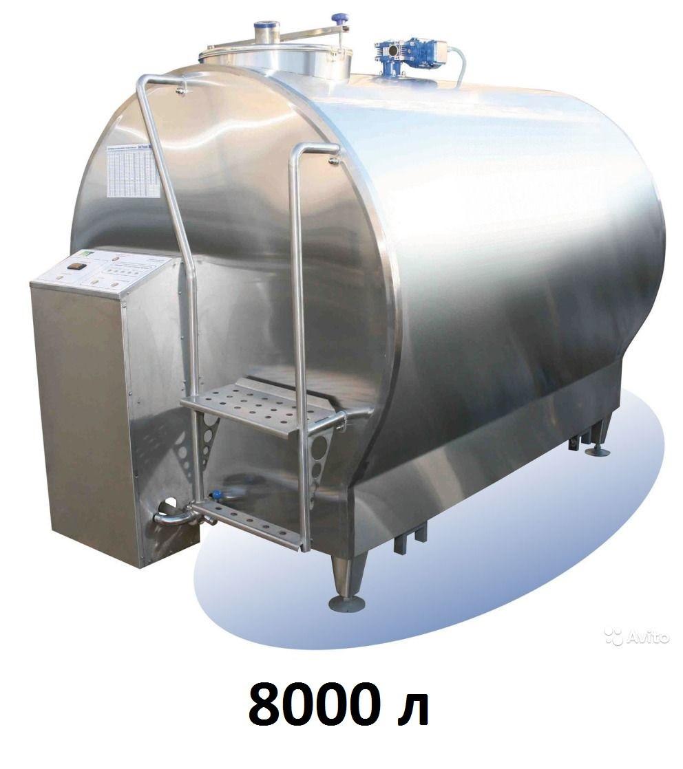 Охладитель молока закрытого типа Cold Vessel 8000 л