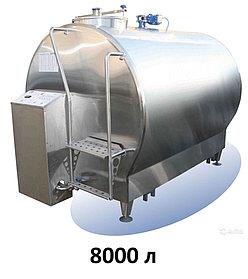 Охладитель молока закрытого типа 8000 л