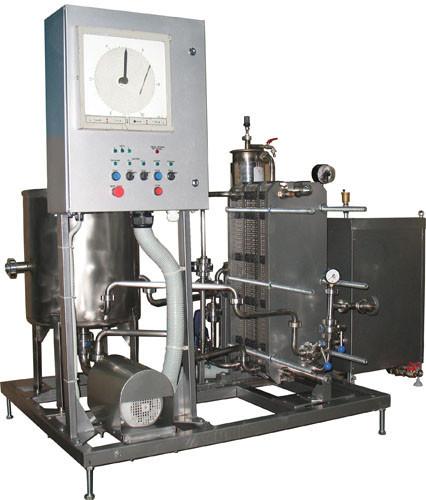 Комплект оборудования для пастеризации ИПКС-013-3000, 3000 л/ч