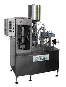 Полуавтомат розлива и упаковки жидких продуктов в картонную упаковку типа PURE PAK «АЛЬТЕР- 04» 500 упак/ч