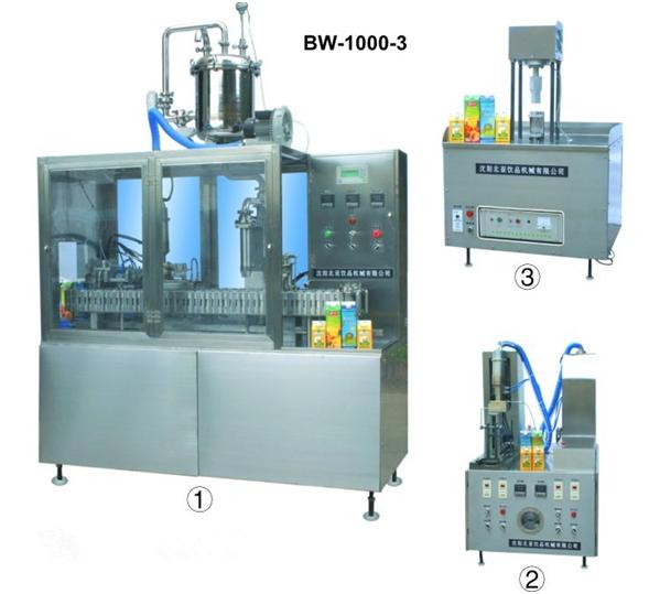 """Полуавтомат фасовки и розлива в пакеты типа """" Пюрпак"""" BW-1000-3"""