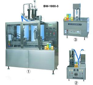 """Полуавтомат фасовки и розлива в пакеты типа """" Пюрпак"""" BW-1000-3, фото 2"""