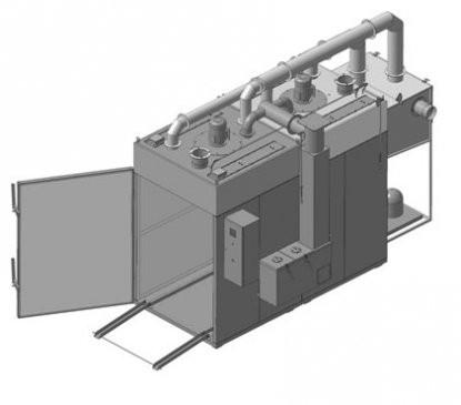 Камеры для сушки и холодного копчения рыбы