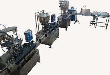 Полуавтомат розлива минводы 1000/3000 бут/час, фото 2