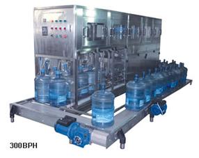 Оборудование для мойки, розлива и укупорки 19 л бутылей (200-300 бут/час)