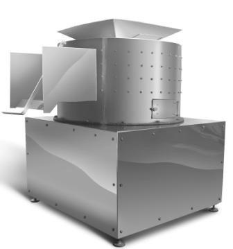 Центрифуга 400 кг в час Очиститель центробежный для обработки слизистых субпродуктов, фото 2