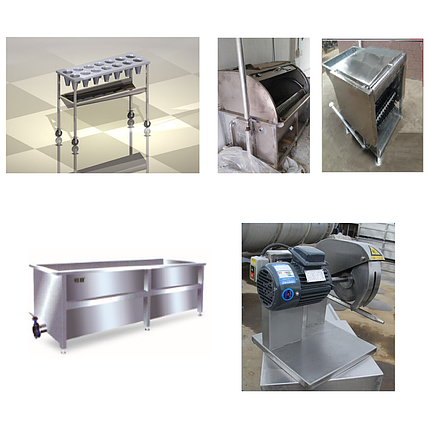 Комплект оборудования для убоя кур 100 шт/час, фото 2
