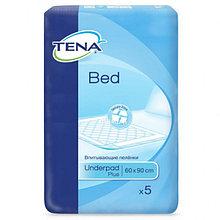 Пеленки впитывающие одноразовые Tena Bed Plus 60*90 5шт