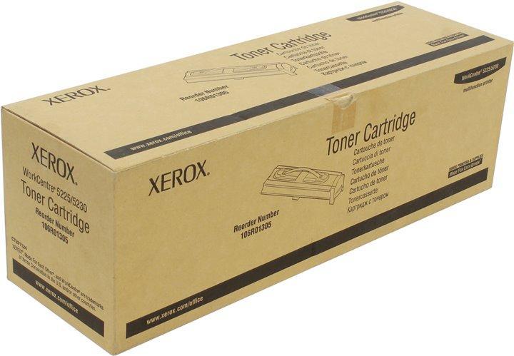 Тонер-картридж Xerox WorkCentre 5225/5230 106R01305  оригинал