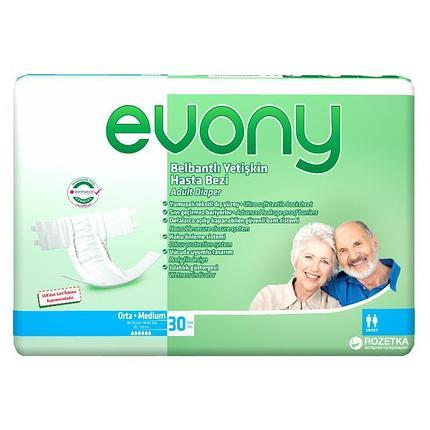 Подгузники взрослые Evony Medium 30 шт, фото 2