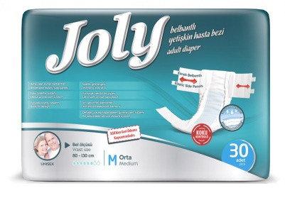 Подгузники взрослые Joly Medium 30 шт, фото 2