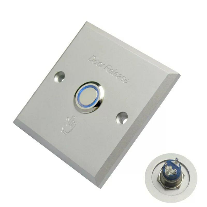 Кнопка выхода врезная GT-E08S с индикацией