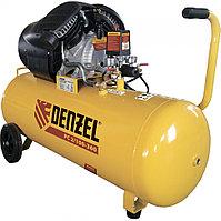 Компрессор воздушный PC 2/100-360, 2.3 кВт, 360 л/мин, 100 л, 10 бар. DENZEL