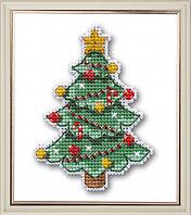 """Набор для вышивания крестом """"Новогодняя елочка"""""""