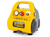 Компрессор воздушный безмасляный РС 1/6-180,1, 1 кВт, 180 л/мин, 6 л. DENZEL