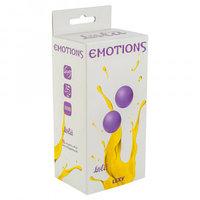 Вагинальные шарики без сцепки Emotions Lexy Small purple