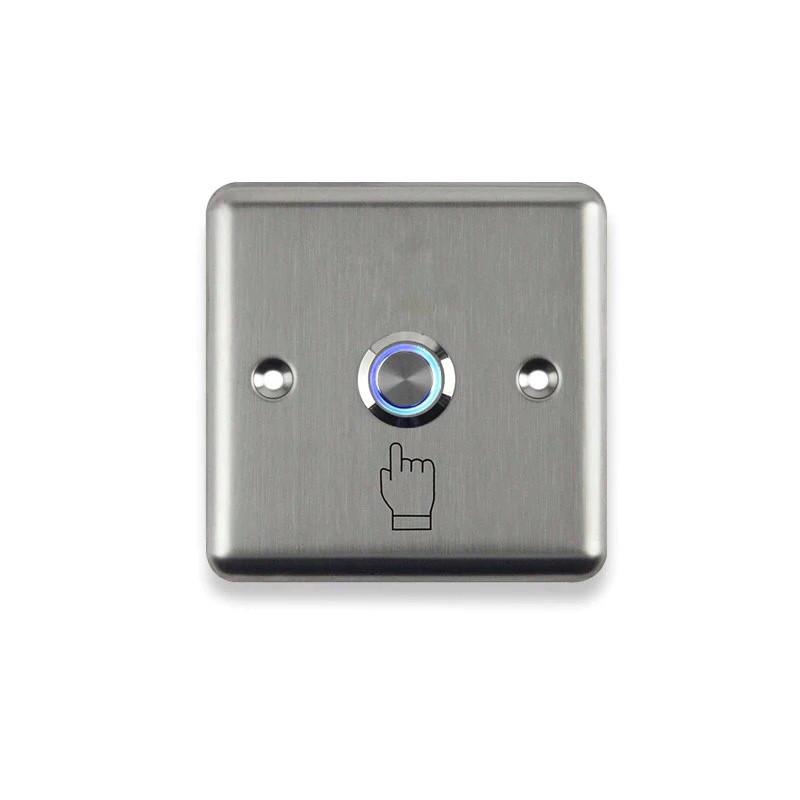 Кнопка выхода врезная GT-E04S квадратная с индикацией
