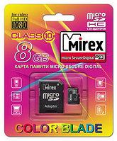 Mirex microsdhc 8gb с адаптером class 10